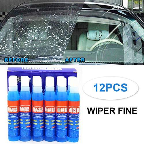 dream-cool 12 STÜCKE Automotive Wischer Fein Flüssigkeit Konzentriert Wischer Fein Regen Schaben Autoglas Hochleistungsreiniger Reinigungsmittel Wischerzusätze