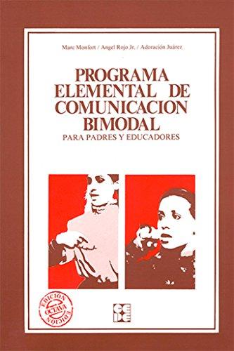 Portada del libro Programa elemental de comunicacion bimodal (Educación especial y dificultades de aprendizaje)
