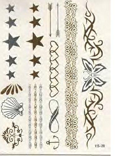 body-board-nature-temporaire-tattoo-tattoo-vos-feuilles-et-papillons-coeurs-et-etoiles