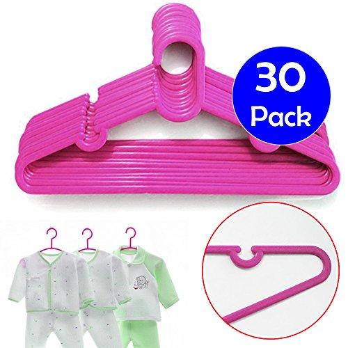 30-x-rosa-ninos-ropa-de-bebe-nino-ninos-abrigo-perchas-de-plastico-para-colgar-de-almacenamiento