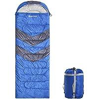 Gorich Clima extremo Saco de dormir para los adultos, niños y niñas, adolescentes - protección contra el frío - Para cualquier persona hasta 6,1 '- Ideal cuatro estaciones mochila bolsa de dormir para