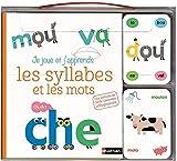 Je joue et j'apprends les syllabes et les mots - coffret cartes et livre - Dès 5 ans...