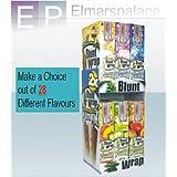 Blunt Papel de Enrolar Doble Platino Varios Colores, 25 Paquetes, 50 piezas en total