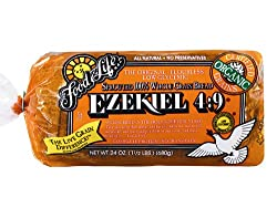 Food For Life Baking Company Food For Life, Ezekiel 4:9 Bread, Original Sprouted, Organic, 24oz (1 Loaf)