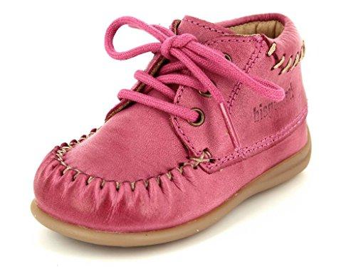 Bisgaard Prewalker 21221.117.4001 Kinder Lauflernschuhe in Mittel 4001 Pink