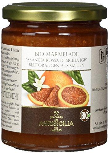 Agrisicilia Sizilianische Blutorangen-Marmelade, 6er Pack (6 x 360 g)