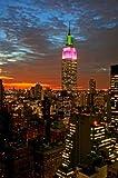 Paragon Square–Empire State Building in New York 2von Gary–Bild Foto auf Alu Dibond–Größe 40cm x 60cm–System von Haltevorrichtungen von Schienen Aluminium–Referenz 300148dbl3r-40
