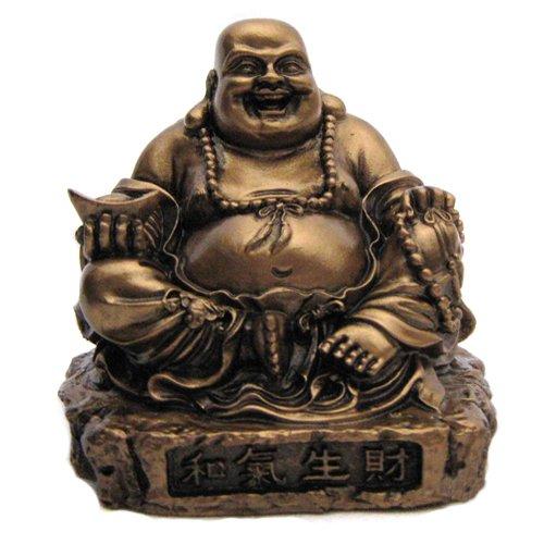 Diseno de Buda sentado de la suerte con diseno de dragon para asiento de coche
