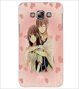 PrintDhaba Couple D-3706 Back Case Cover for SAMSUNG GALAXY A7 (Multi-Coloured)