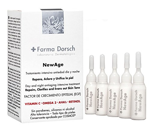 Farma Dorsch New Age - Crema antiedad, 5x10 ml