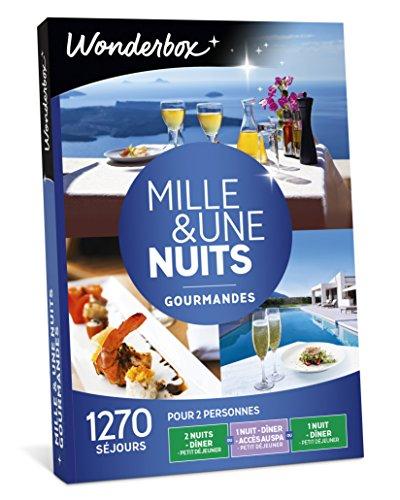 Wonderbox - Coffret cadeau couple - MILLE & UNE NUITS GOURMANDES - 1270 Week-ends...
