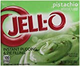 Jell-O Pistachio Instant Pudding And Pie Filling 96g Box