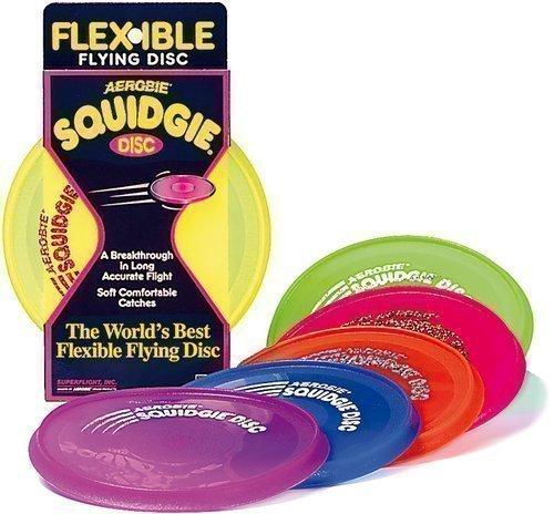 Neu Aerobie Squidgie Flexibel Fliegend Disc Draußen Spaß Wurf Frisbee