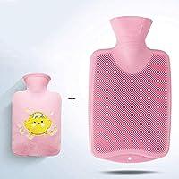 YUN Gefülltes Wasser Kinderjacke Warmwasserbeutel Explosionsgeschützte PVC-Handwärmer 0.8L (Farbe : Pink) preisvergleich bei billige-tabletten.eu