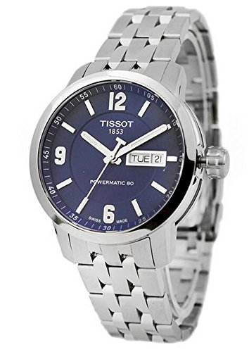 Tissot Herren t0554301104700Analog Display Swiss Automatische Silber Armbanduhr