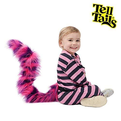 TellTails tt-upkidcrazcat Get Your Wedeln auf. tragbar Crazy Cat Schwanz Kostüm für Kinder, One Size (Cat Crazy Kostüm)