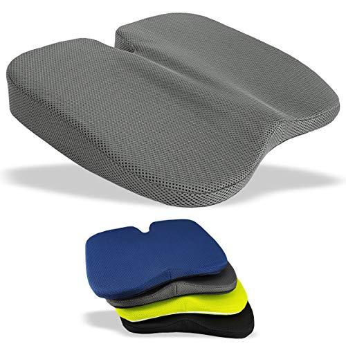 Medipaq Freiheits - Keilkissen - Großartig zur Steißbeinentlastung, Lendenstütze, Rückenschmerzen Beim Autofahren Oder Zu Hause. -