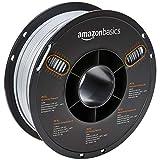 AmazonBasics Filament PETG pour imprimante 3D, 2,85 mm, Gris, bobine de 1 kg