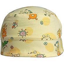 Ekan Baby Girl Summer Cotton Sun Protection Cap; 15 G (Pink)