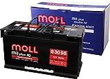 Moll M3 Plus K2 Doppeldeckel 83095 95Ah (800A Kälteprüfstrom)