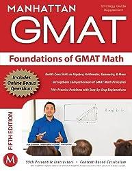 Foundations of GMAT Math (Manhattan GMAT Preparation Guide: Foundations of Math) by Manhattan GMAT (15-Apr-2012) Paperback
