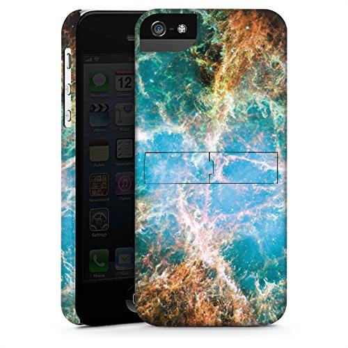 Apple iPhone X Silikon Hülle Case Schutzhülle Galaxy Muster Universum Premium Case StandUp