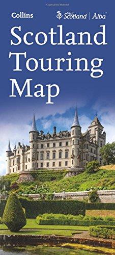 Visit Scotland Touring Map
