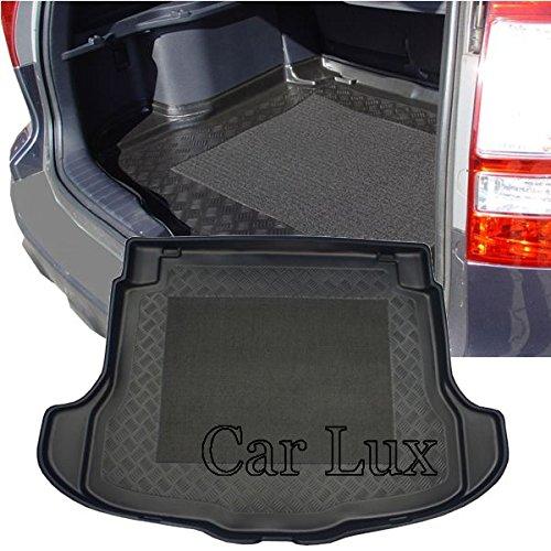 Car Lux AR01571 - Alfombra Bandeja Cubeta Protector cubre maletero a medida para C-RV desde 2007- con antideslizante