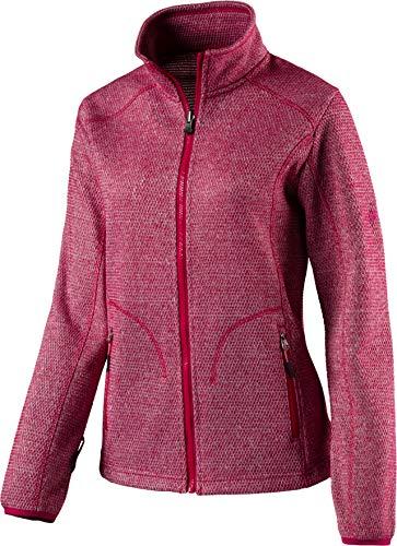 McKINLEY Damen Fleece-Jacke Temuco Zip-in System Red Wine, 40 Zip Damen Fleece