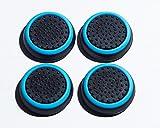 Canamite, gommini per pollici, gommini copri levette per joystick, per PS4,PS3,Xbox One, Xbox One S e Xbox 360, confezione da 4pezzi, blu cielo