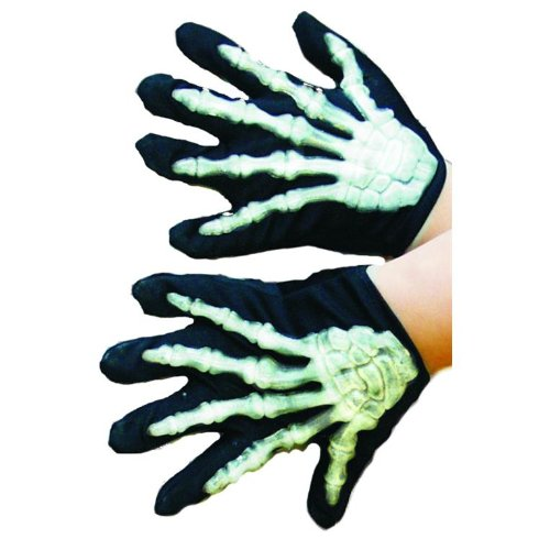 Skelett Handschuhe Skeletthandschuhe Kinder Kostüm (Skelette Kostüme)