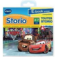 Vtech - 281905 - Storio - E-book animé - Cars 2