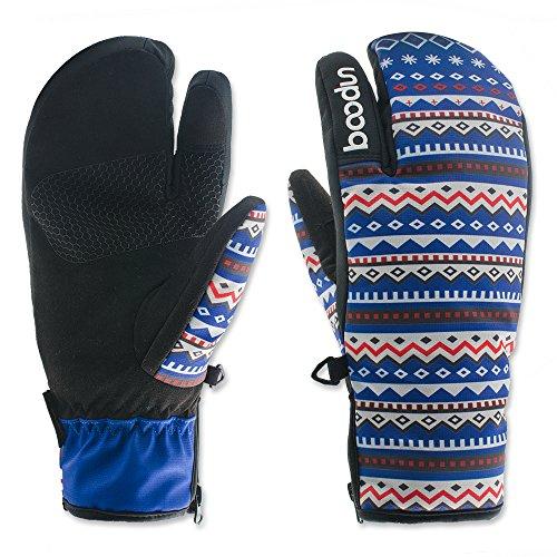 LiGG Touchscreen Skihandschuhe Damen Wasserdicht Winddicht Winterhandschuhe Winter Warm Snowboardhandschuhe