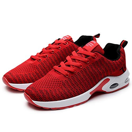ELECTRI Homme Femme Air Baskets Chaussures Outdoor Running Gym Fitness Sport Sneakers Style Running Multicolore Respirante- 35EU-47EU