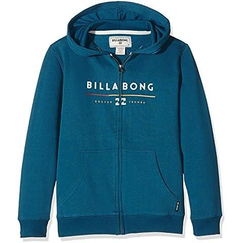 Billabong Unity Tri-Sudadera con capucha y cremallera para niño, color azul marino, FR: 14 años (talla fabricante:) 14