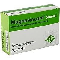 MAGNESIOCARD 5 mmol Plv.z.Her.e.Lsg.z.Einnehmen 20 St preisvergleich bei billige-tabletten.eu