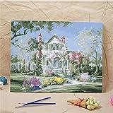 Godess4 DIY Ölmalerei Set Ölmalerei Ölmalerei - Hawaii Romantic 16 * 20 Zoll Füllen Sie Ihre handgemalte Dekoration mit digitalem Ölmalerei