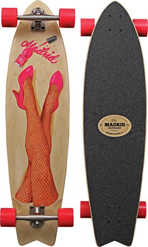 Madrid Skateboards Gun Legs 38 MAXED Longboard