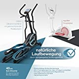 Sportstech CX630 Profi Crosstrainer Elliptical inkl. Pulsgurt - 8