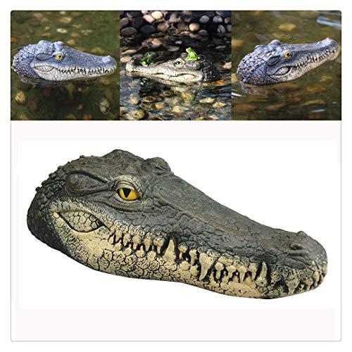 Vogel Kostüm Streich - BBring Krokodilkopf Streich Neuheit Simulation Krokodil