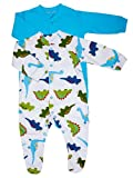 2Pk Boys Fashion Sleepsuit (Size 0-3 months) great idea for baby & toddler gifts