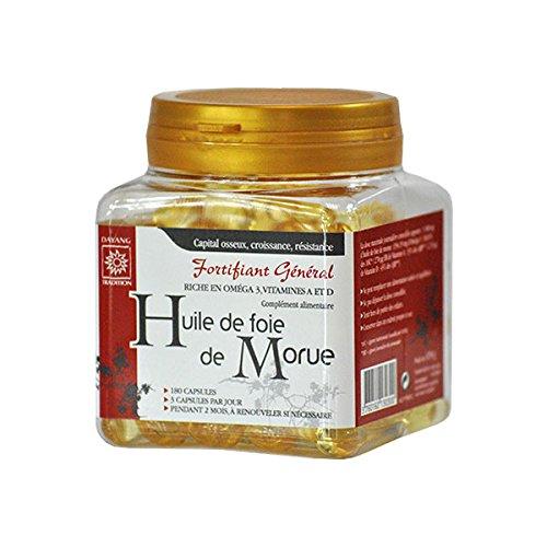 Dayang - Huile De Foie De Morue Pilulier 180 Capsules