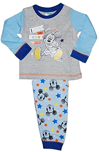 Baby Boy Disney Mickey Mouse Pyjamas 6-9 9-12 12-18 18-24 Months (9-12 Months)