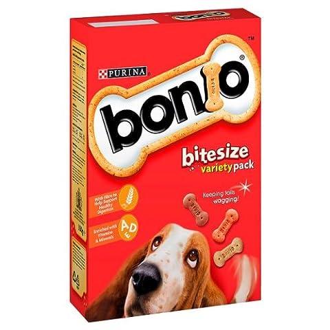 Bonio Bitesize Variety Pack 350g (Packung 6)