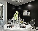 wandtapete Einfarbig schwarz wallpaper Klebstoff verklebt TV Hintergrundwand dunklen grauen und schwarzen Tapeten , pure black