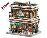 Lemax 85362 - Espresso Yourself - Beleuchtes Porzellangebäude - NEU 2018 - Caddington Village - LED Haus - Kleine Weihnachtswelt / Weihnachtsdorf