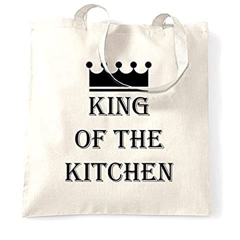 König der Küche Master Chef Kochen Koch Lustiger Slogan Tragetasche (Weihnachten Nachrichten Für Den Chef)
