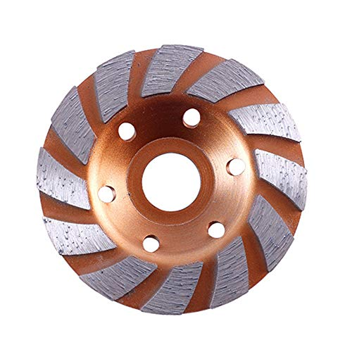 Diamond Cup Grinder (EsportsMJJ 100mm Diamond Segment Grinding Cup Wheel Disc Grinder Granite Stone - 2#)
