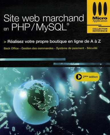 SITE WEB MARCHAND EN PHP/MYSQL par Jean-Marc Herellier