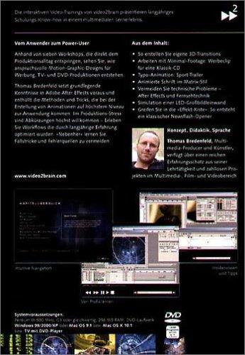 Adobe After Effects 6.5 Profi Workshops. Video-DVD für Windows 98/2000/XP oder Mac...